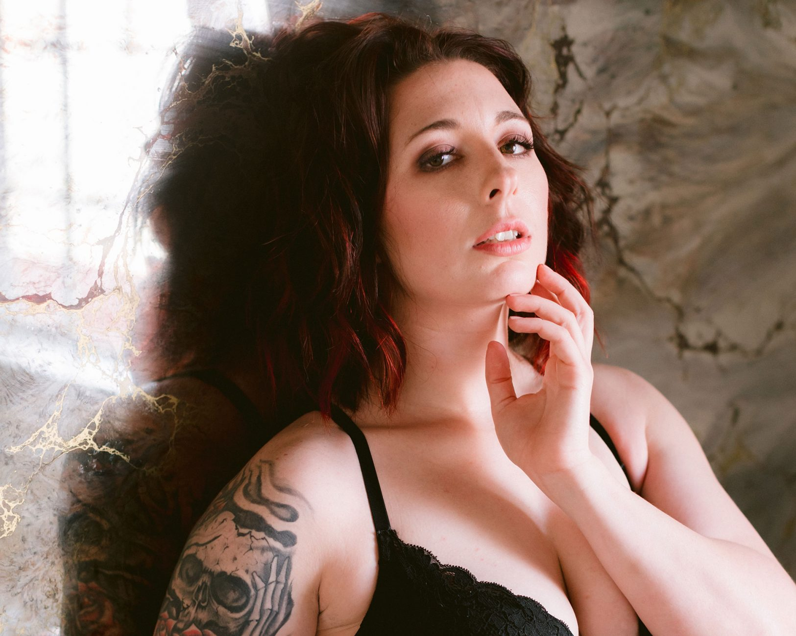 san francisco bay area alternative boudoir photographer in downtown hayward by heather elizabeth sumpter